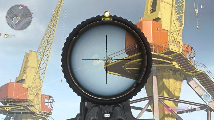 call of duty Dmr 14 Long Range Scope Shot