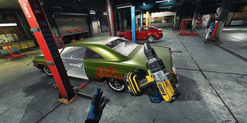 Car Mechanic Simulator Vr Cover