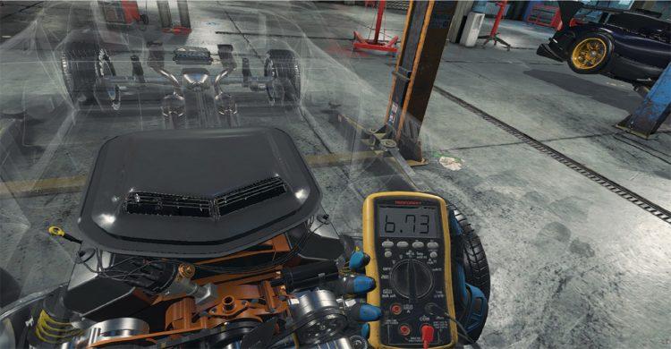 Car Mechanic Simulator Vr Volt Checker
