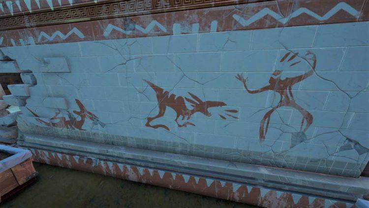 Fortnite Dinosaurs Wall Drawings