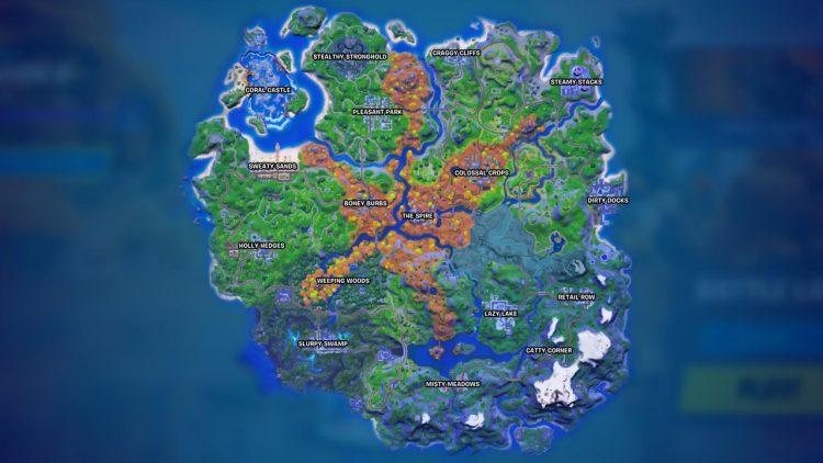 Fortnite Season 6 map changes