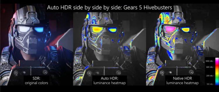 Microsoft auto HDR PC