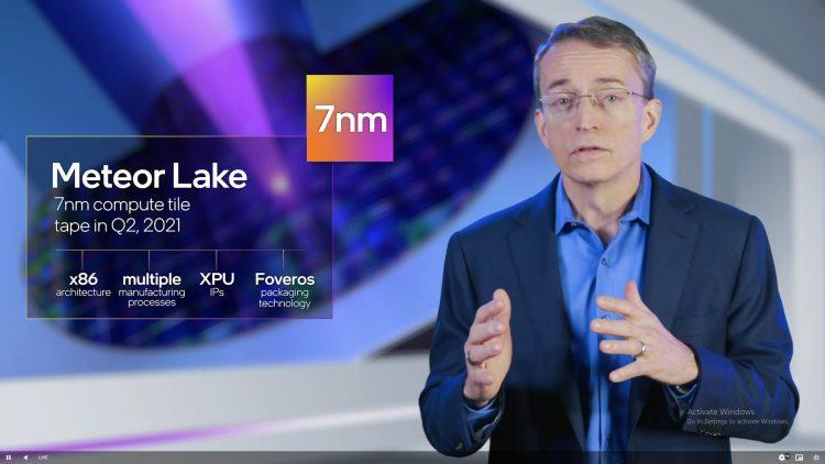Intel 7nm Roadmap Meteor Lake