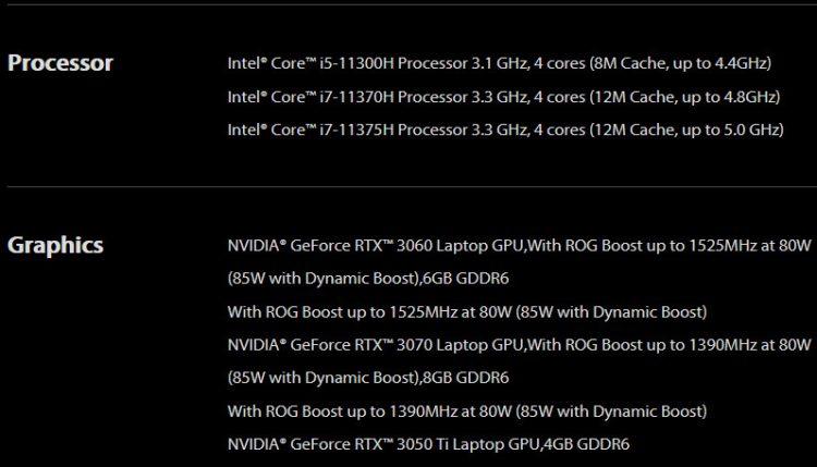 Rtx 3050 Ti Asus Laptop