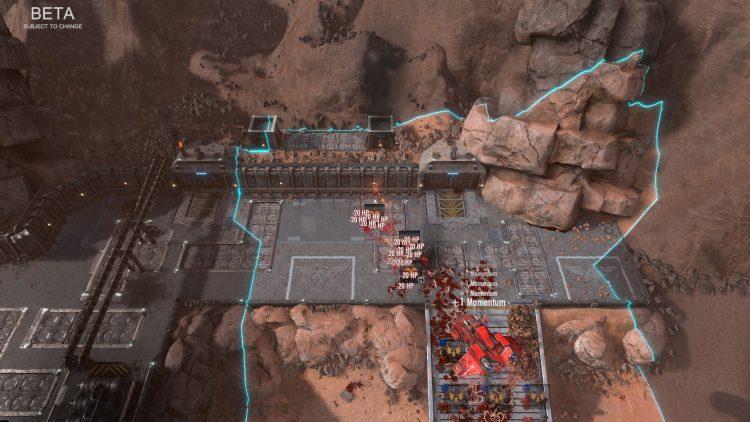 Warhammer 40,000 Battlesector preview