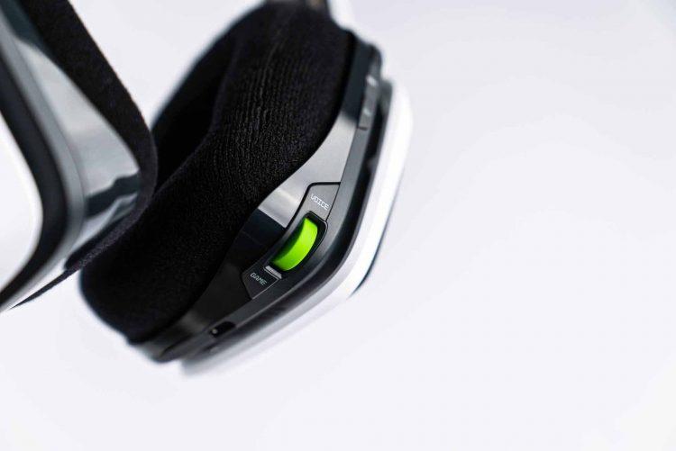 Astro A20 Voice Game Balance Buttons