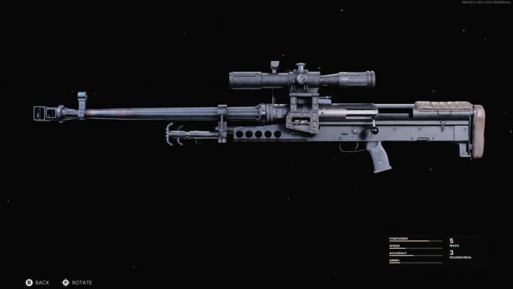 Black Ops Cold War Zrg 20mm Class