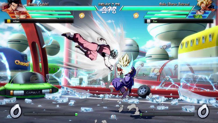 gameplay super saiyan trunks gohan