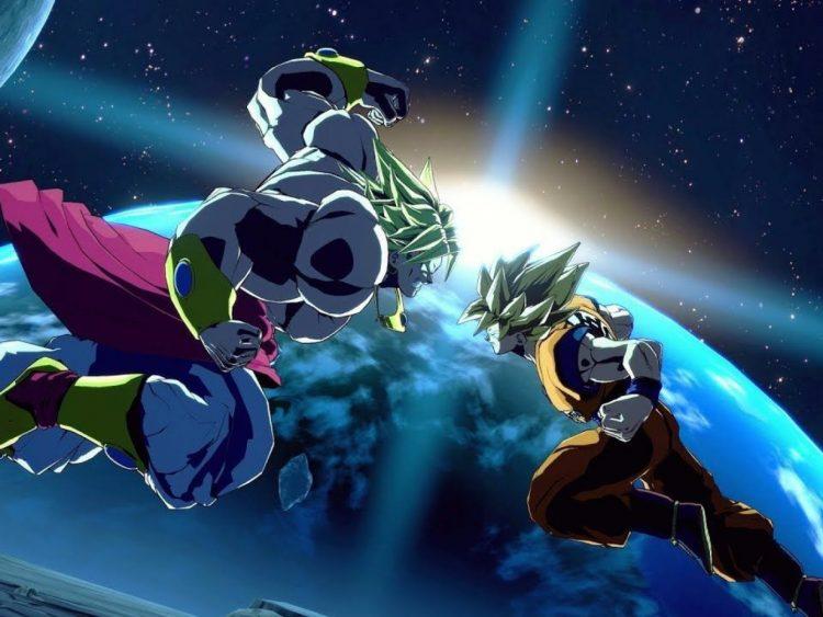 Dragon Ball FighterZ 2 goku broly