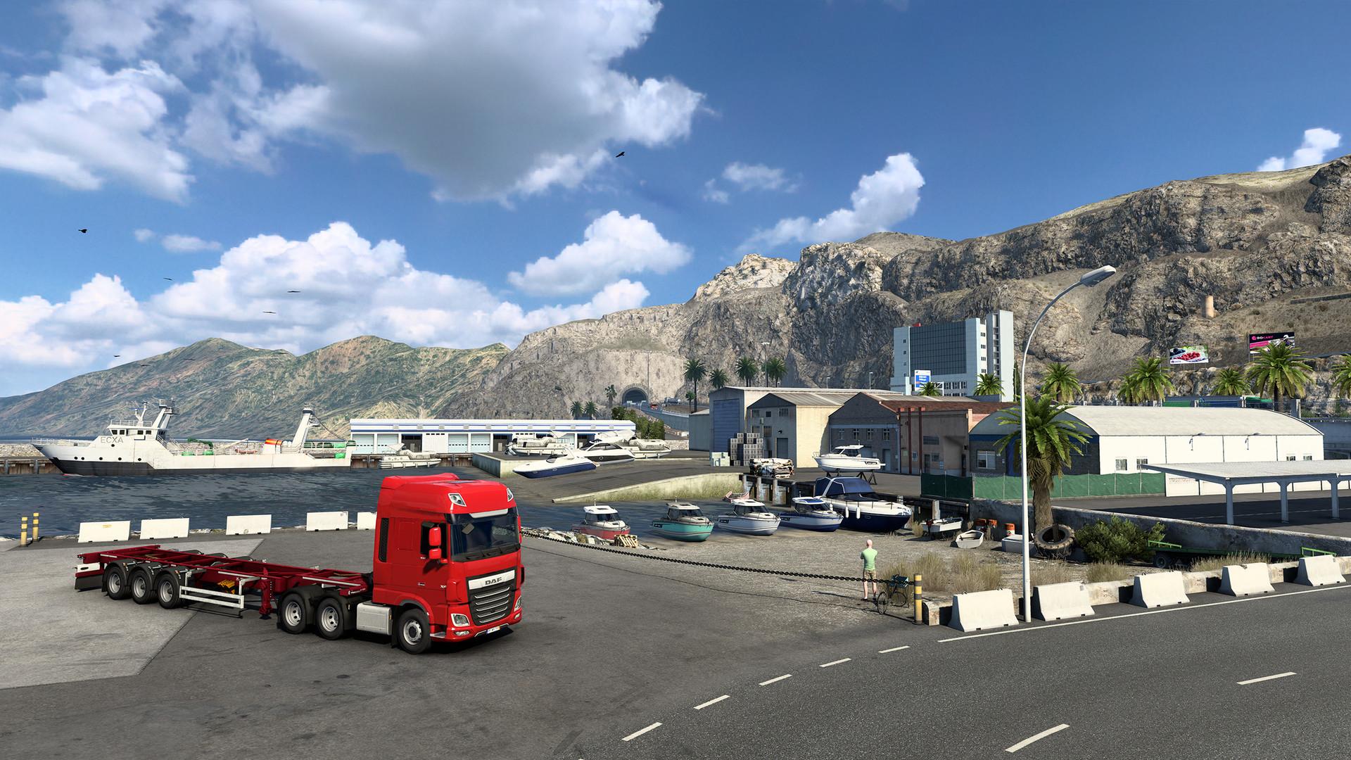 Euro Truck Simulator 2 Iberia Shipyard