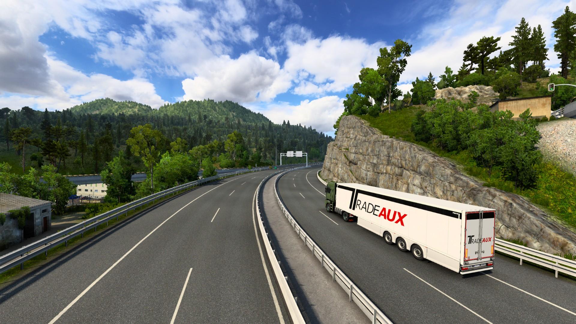 Euro Truck Simulator 2 Iberia Spain Entrance