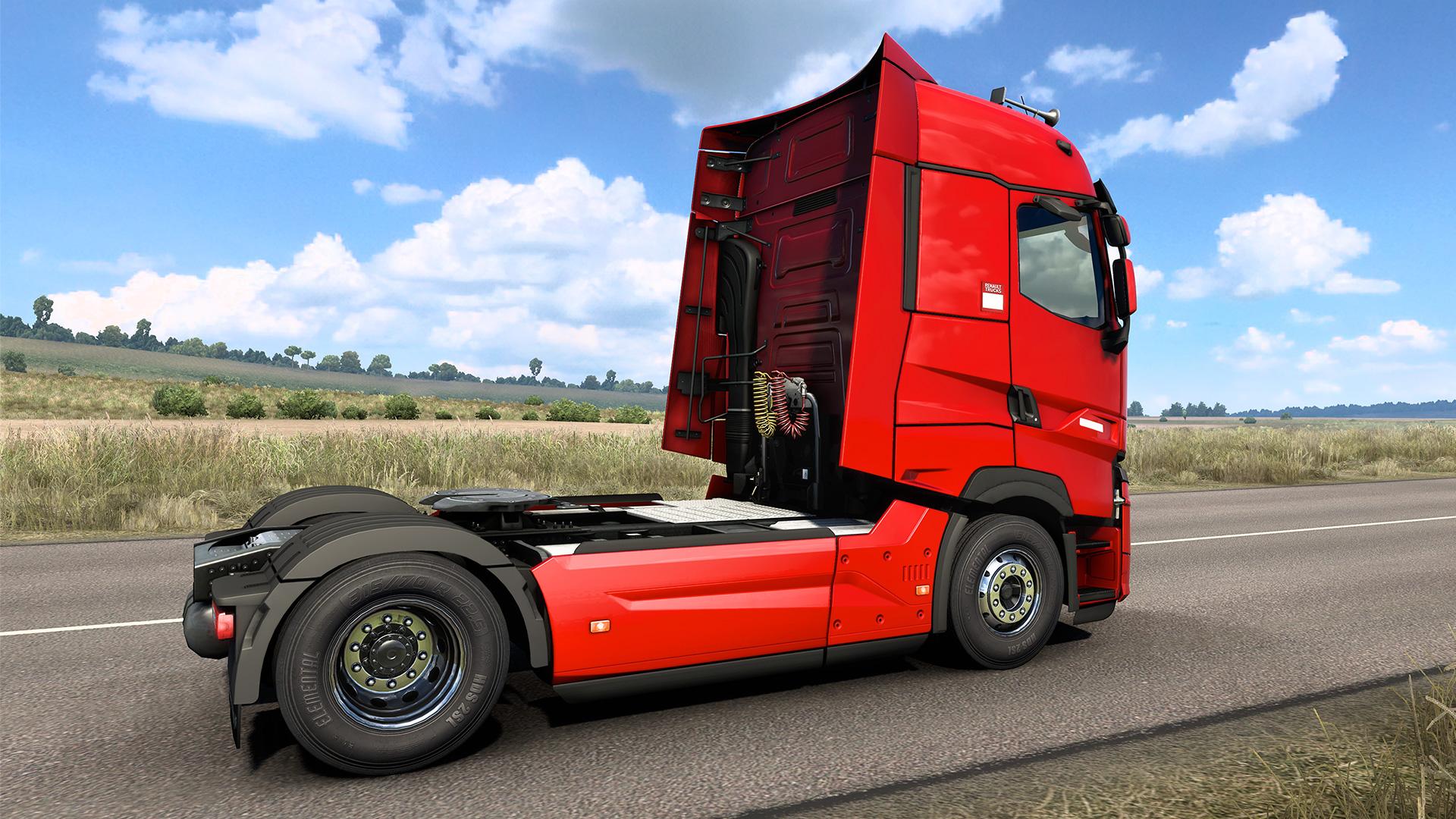 Euro Truck Simulator 2 Renault T High Rear