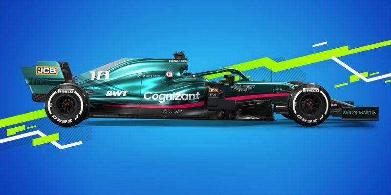 F1 2021 Trailer Aston Martin Press Image