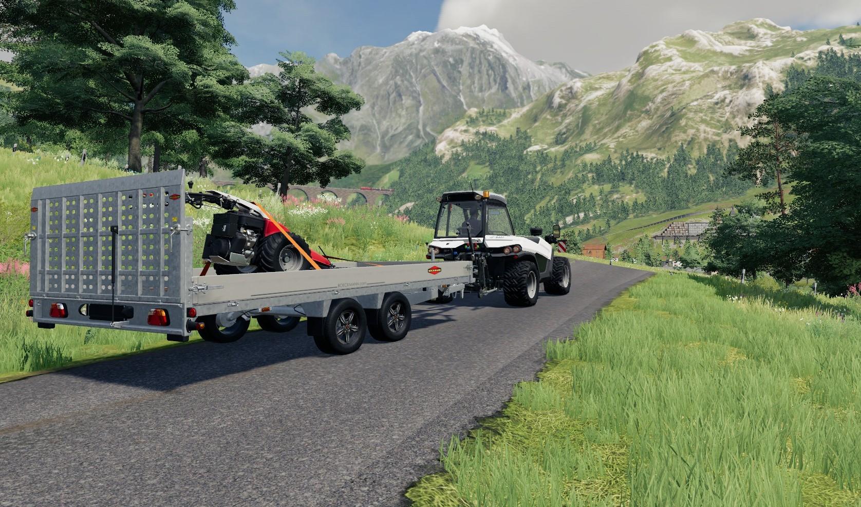 Farming Simulator 19 Alpine expansion Aebi Tt 281