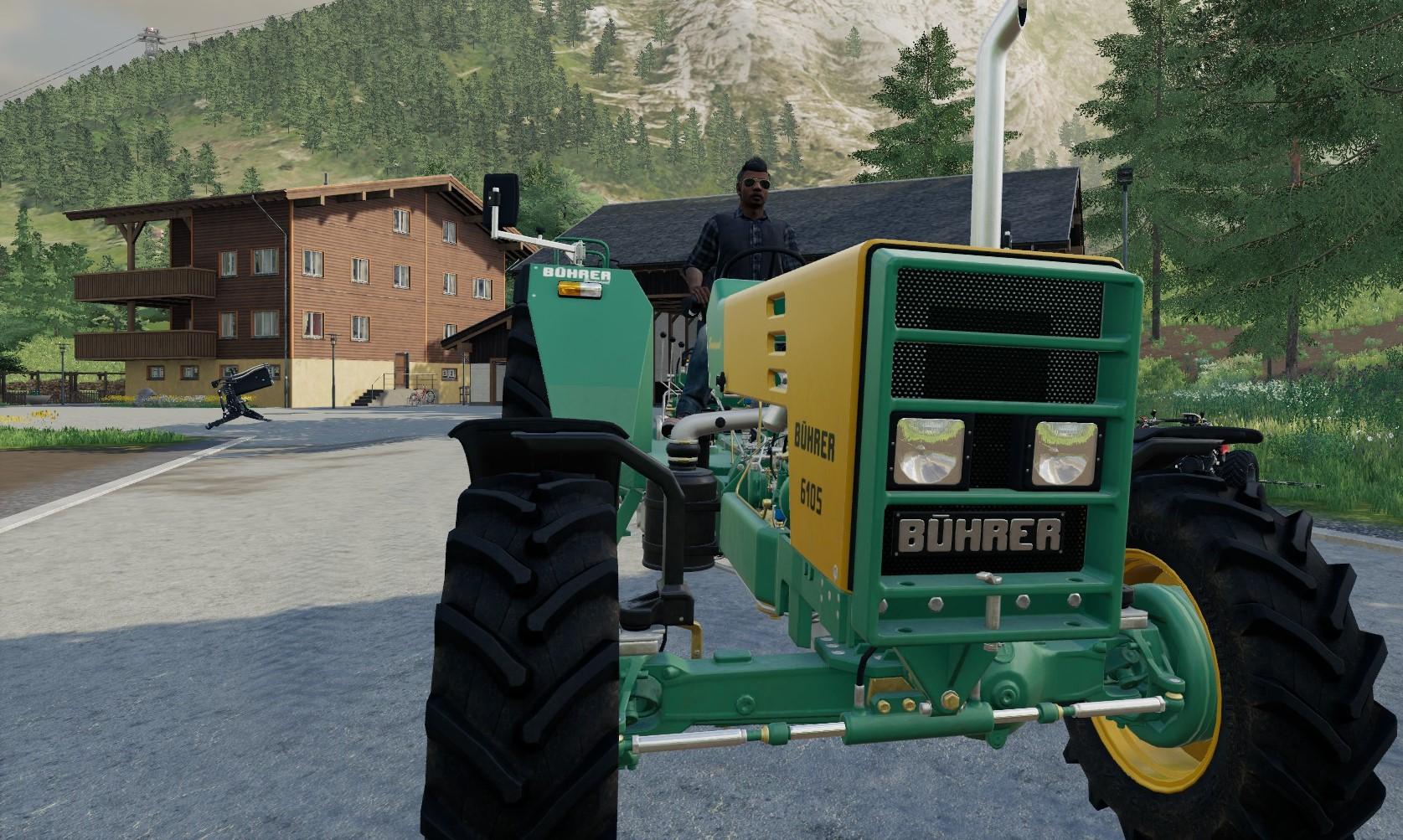Farming Simulator 19 Pc Alpine Expansion Buhrer Close Up