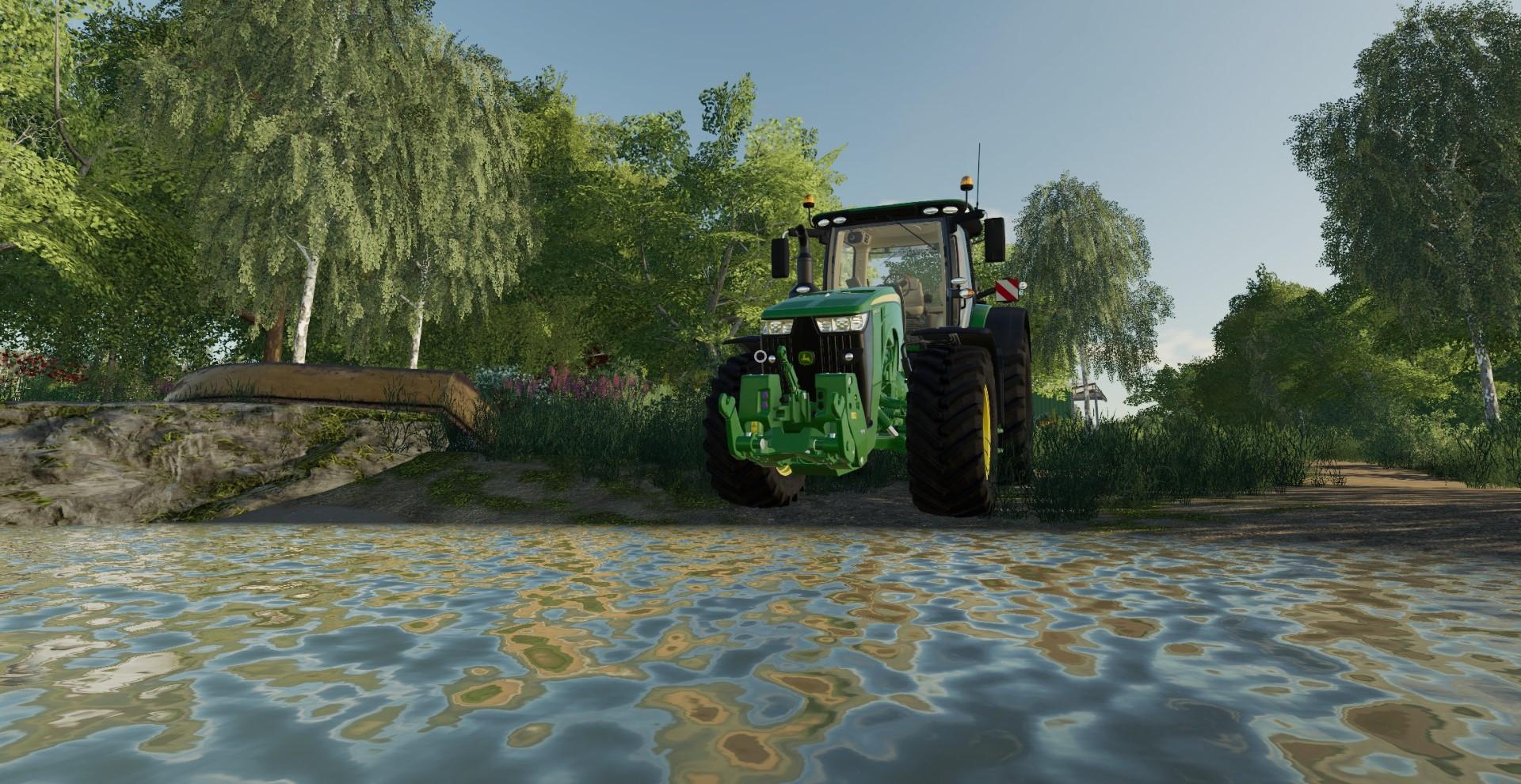 Lake John Deere 19 piece farming simulation game