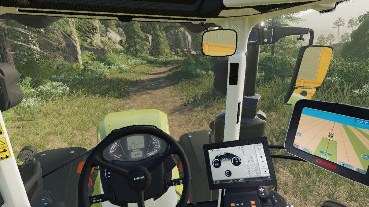 Farming Simulator 19 Pc Platinum Expansion Claas Tractor Interior
