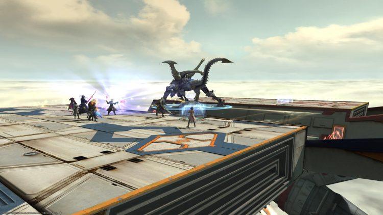 Shadowbringers boss fight