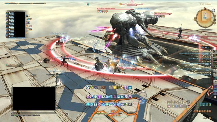 Final Fantasy Xiv Diamond Weapon Adamant Purge 1