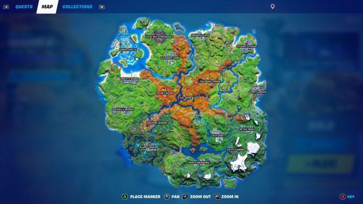 Fortnite Spire Quest Gather Information On Raz