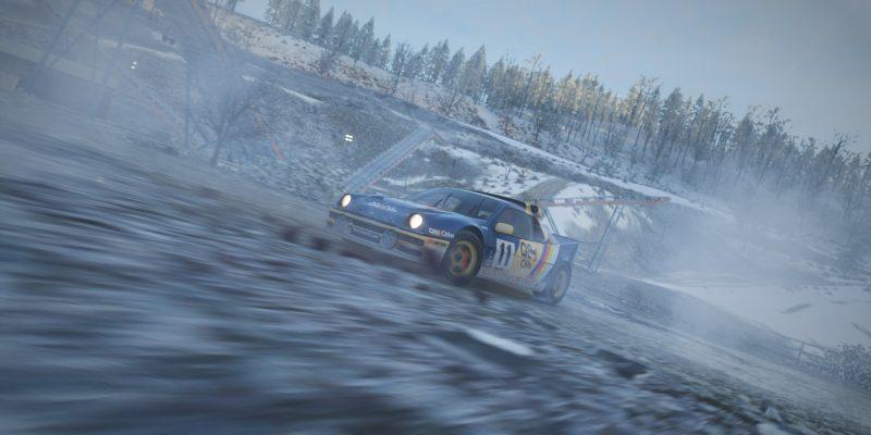 Forza Horizon 4 Ford Rally Donut