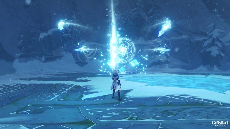 Genshin Impact Cryo Hypostasis Boss Guide Crystalline Bloom Eula 1