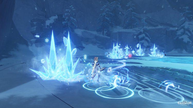 Genshin Impact Cryo Hypostasis Boss Guide Crystalline Bloom Eula 2