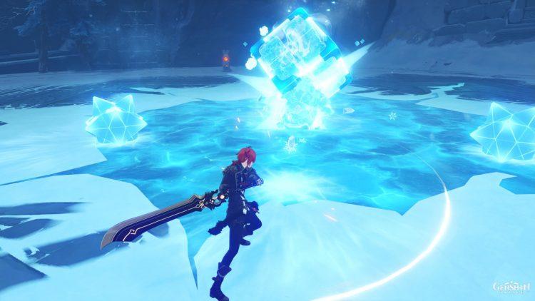 Genshin Impact Cryo Hypostasis Boss Guide Crystalline Bloom Eula 3