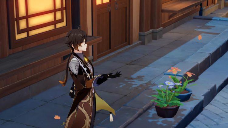 Genshin Impact Zhongli Guide Weapons Artifacts Talents 1st