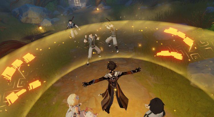 Genshin Impact Zhongli Story Quest Historia Antiqua Act 2 Azhdaha Guide 1