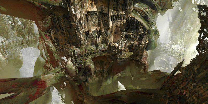 Guild Wars 2 End Of Dragons Concept Art