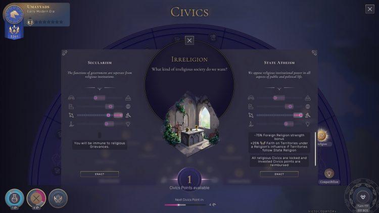 Humankind Civics Stability Guide 2