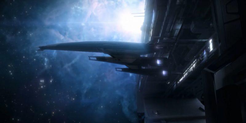Mass Effect Legendary Edition Visual Comparison Trailer Normandy