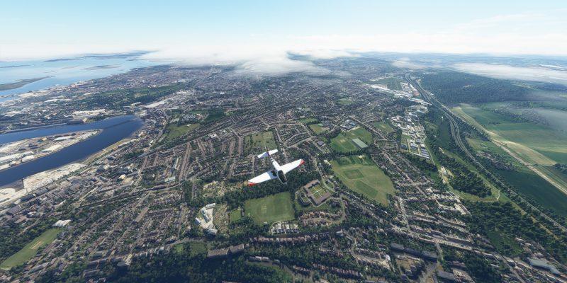 Microsoft Flight Simulator Bonanza Over London