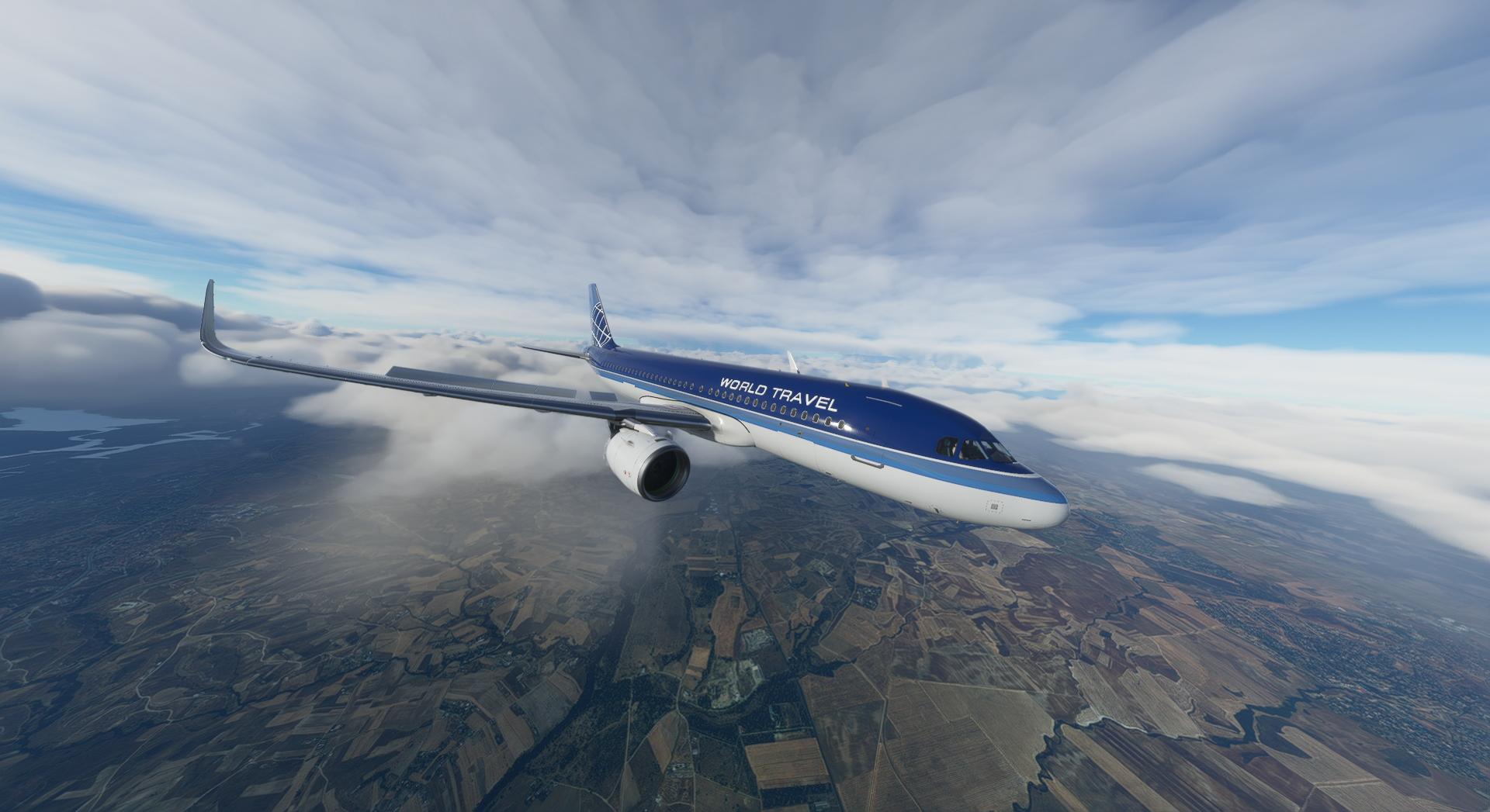 Microsoft Flight Simulator Flybywire A32nx World Travel