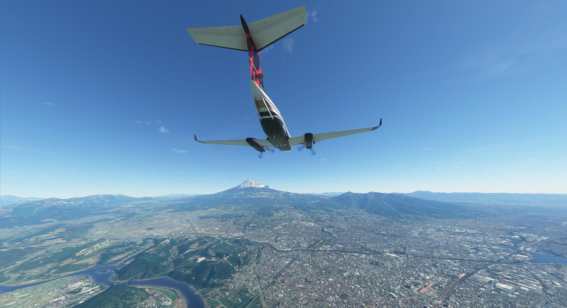 Microsoft Flight Simulator King Air In Japan