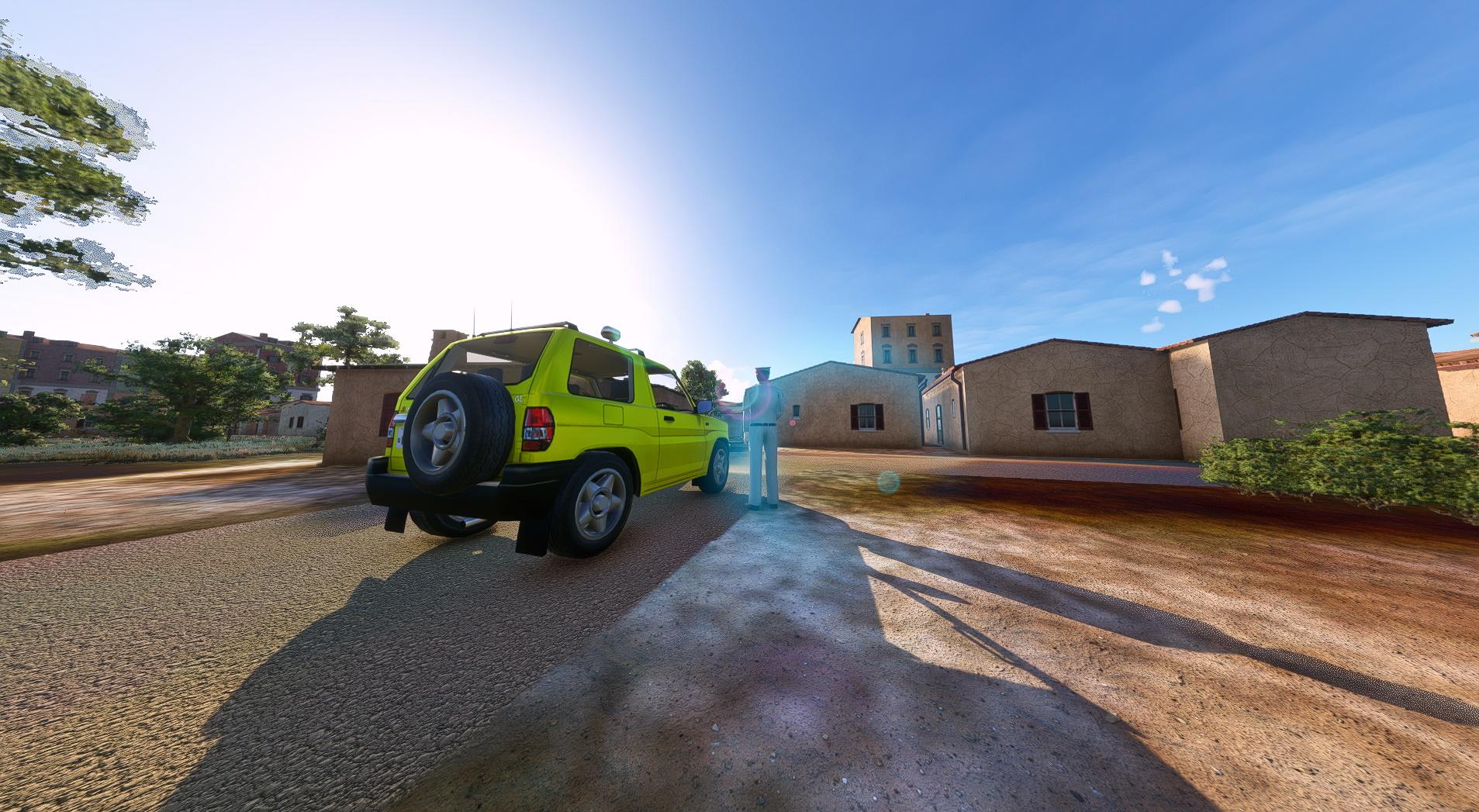 Microsoft Flight Simulator Pajero Car Add On 1