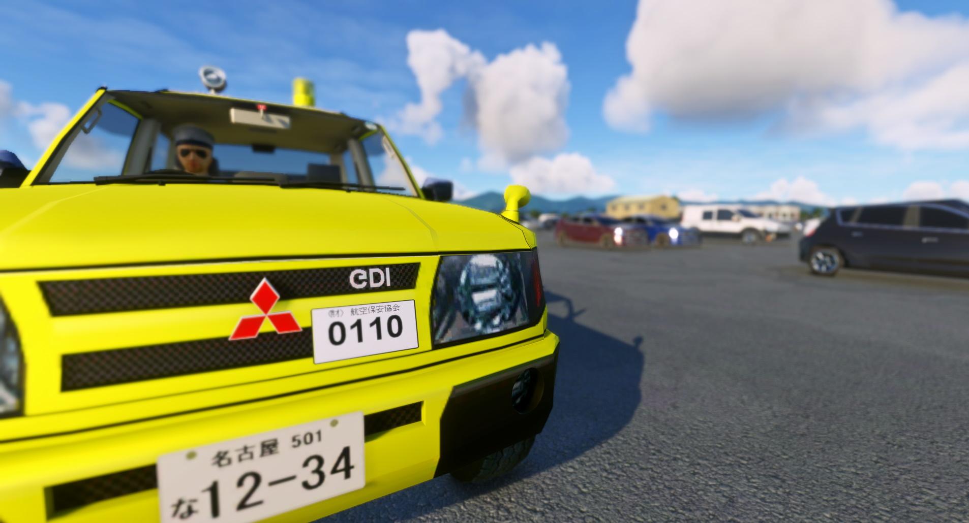 Microsoft Flight Simulator Pajero Car Add On 4