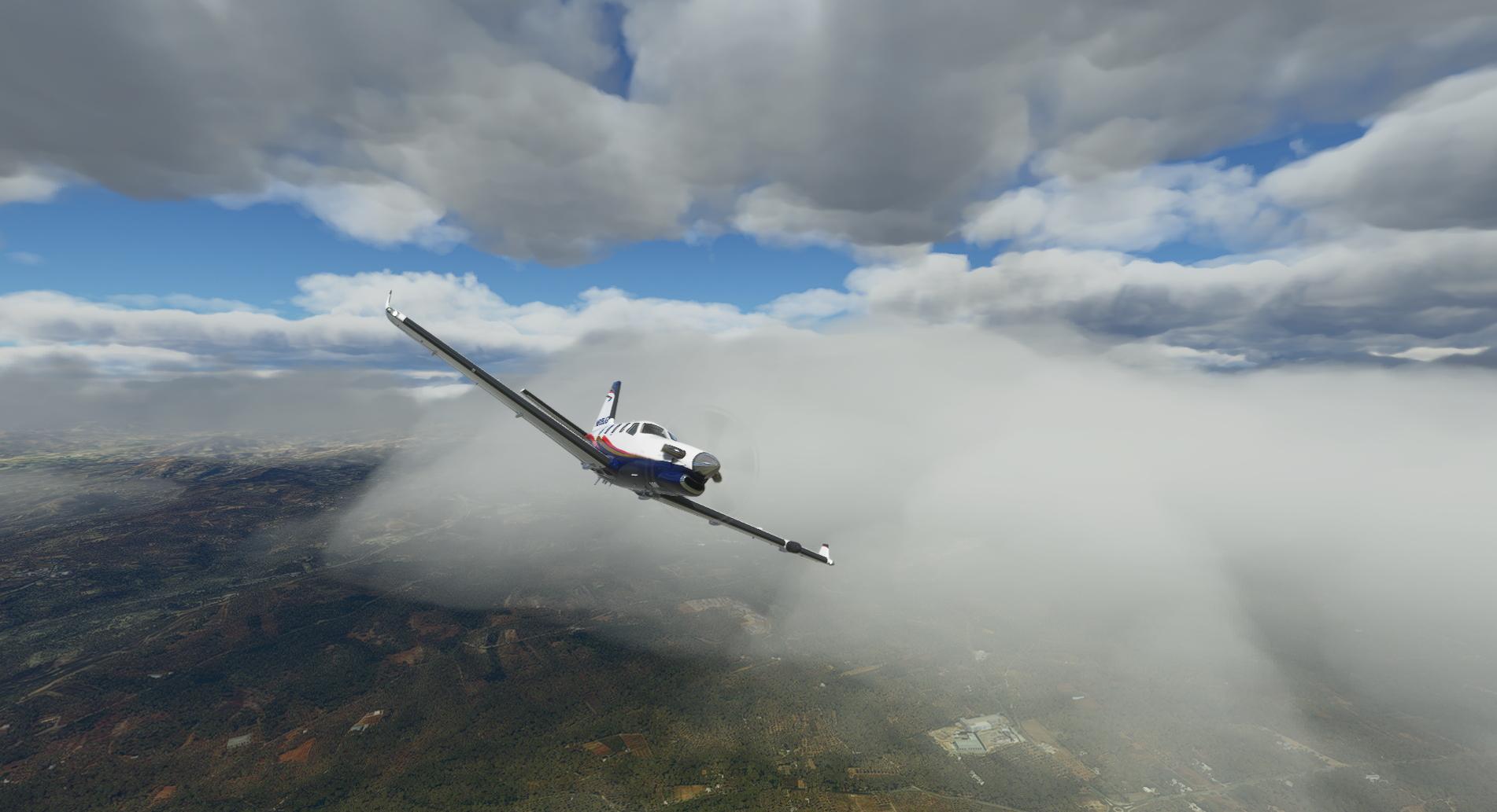 Microsoft Flight Simulator Tbm Cloud Riser