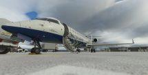 Microsoft Microsoft Flight Simulator Aerosoft Crj British On The Ground