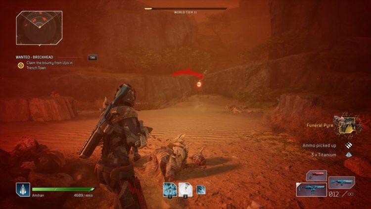 Outriders Epic Legendary Item Titanium Farming Guide Best Farming Locations Dunes