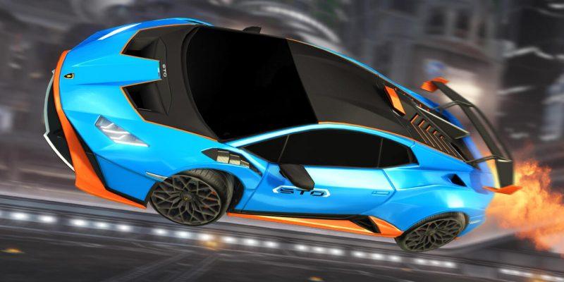 Rocket League Lamborghini Huracan Sto