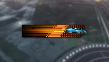 Rocket League Lamborghini Huracan Sto Player Banner