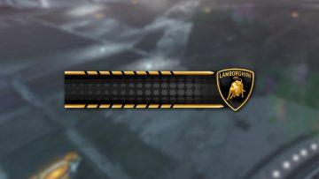 Rocket League Lamborghini Player Banner