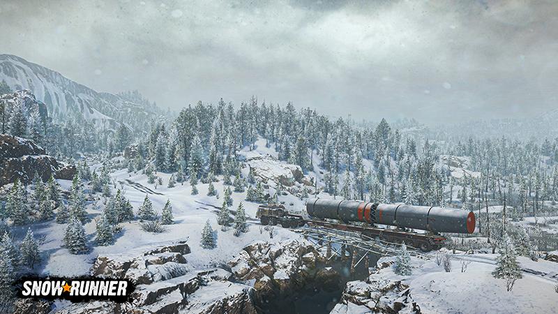 Snowrunner New Amur Oblast Season 4