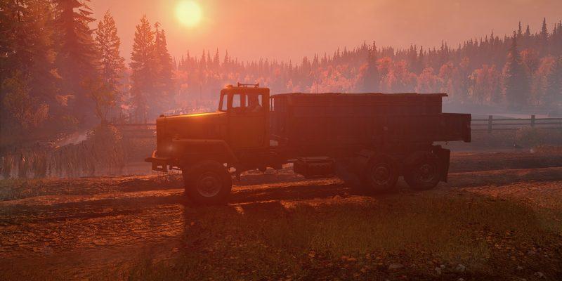 Snowrunner Red Sunset