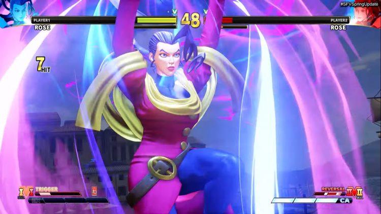 Street Fighter V Spring Update