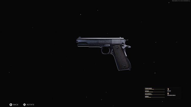Warzone 1911 Pistol