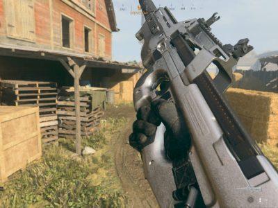Warzone P90 Submachine Gun