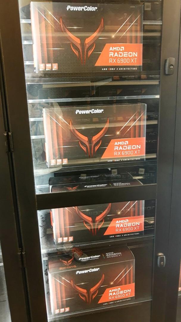 Amd Radeon 6900 Xt Red Devil Gpu In Stock